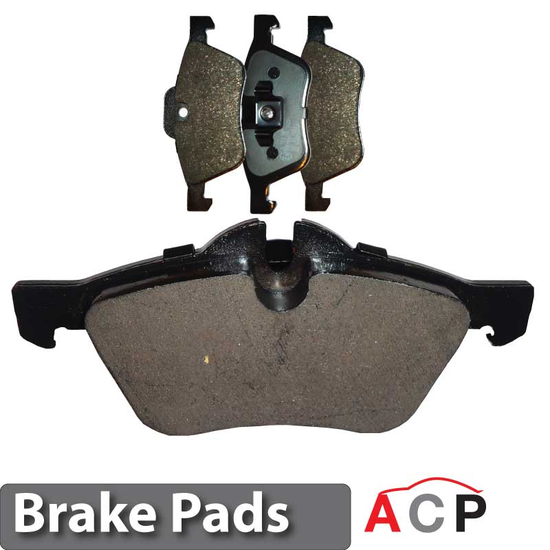 pads set pad parts bmw brake wear shipping free w image genuine disc sensor main lg available front